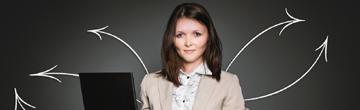 vrouw marketing lenen via geldreserve